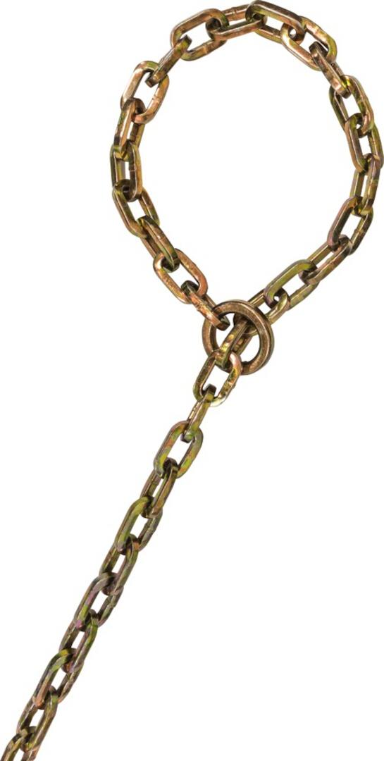 ABUS Chain KS/9 Loop Schlosskette, gold, Größe 250 cm, gold, Größe 250 cm