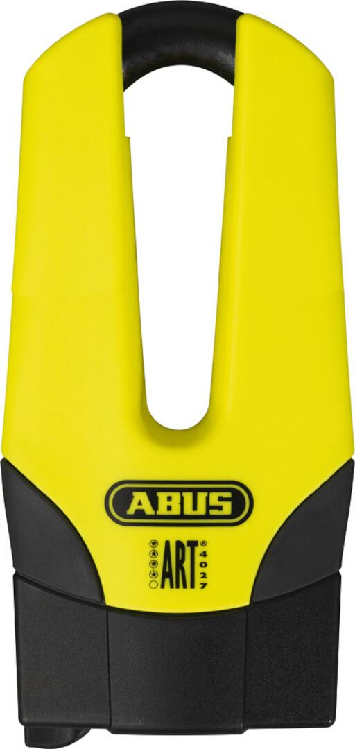 ABUS Granit Quick 37/60 Pro Bremsscheibenschloss, schwarz-gelb, Größe 70 mm, schwarz-gelb, Größe 70 mm