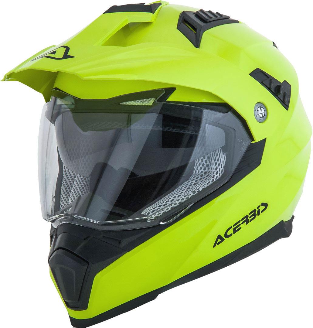 Acerbis Flip FS-606 Enduro Helm, gelb, Größe S, gelb, Größe S