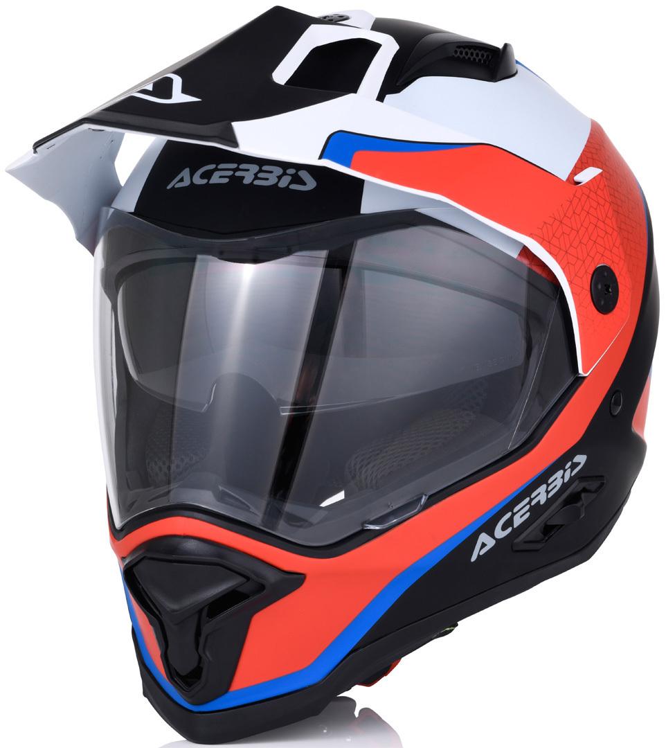 Acerbis Reactive Graffix Motocross Helm, weiss-rot, Größe XL, weiss-rot, Größe XL