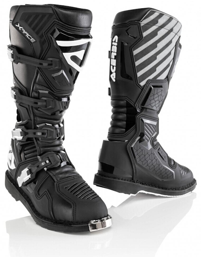 Acerbis X-Race Motocross Stiefel, schwarz, Größe 43, schwarz, Größe 43