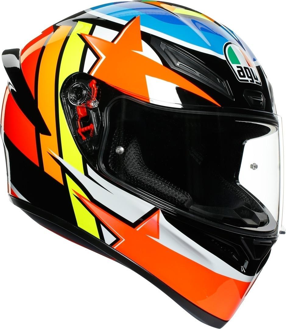 AGV K-1 Rodrigo Helm, mehrfarbig, Größe XL, mehrfarbig, Größe XL