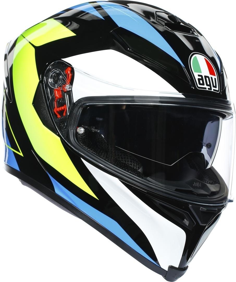 AGV K-5 S Core Helm, schwarz-gelb, Größe 2XL, schwarz-gelb, Größe 2XL
