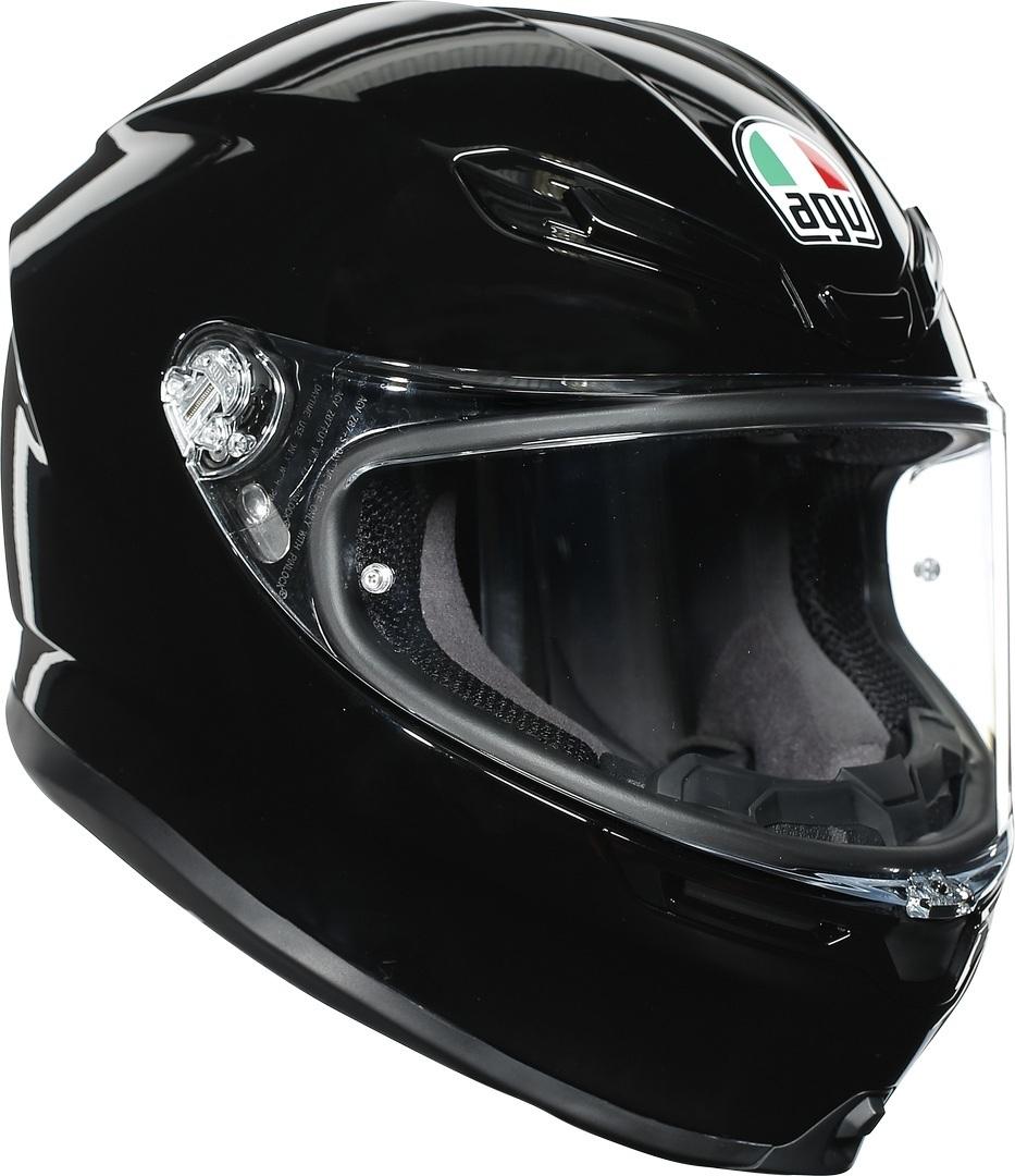 AGV K-6 Helm, schwarz, Größe L, schwarz, Größe L
