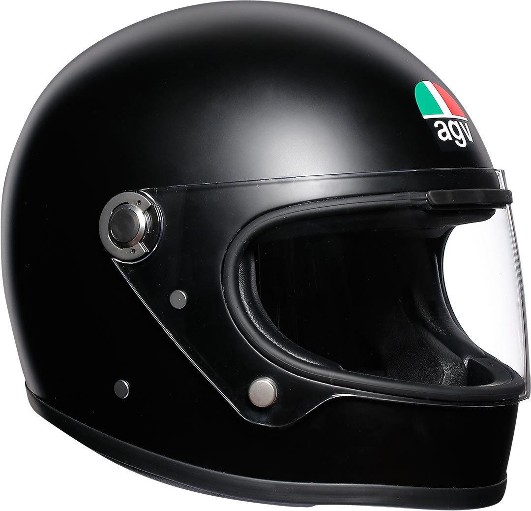 AGV Legends X3000 Helm, schwarz, Größe 2XL, schwarz, Größe 2XL