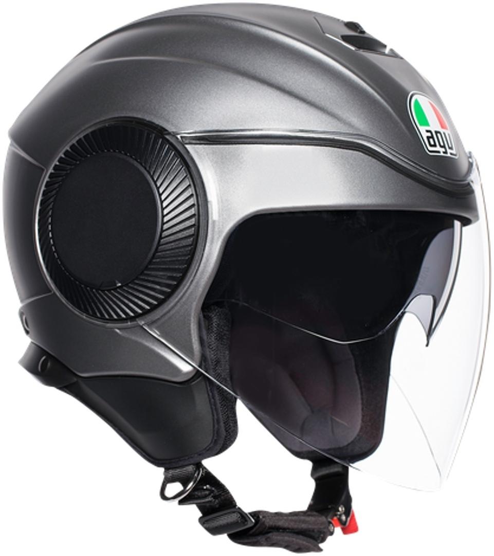 AGV Orbyt Mono Jethelm, grau, Größe XL, grau, Größe XL