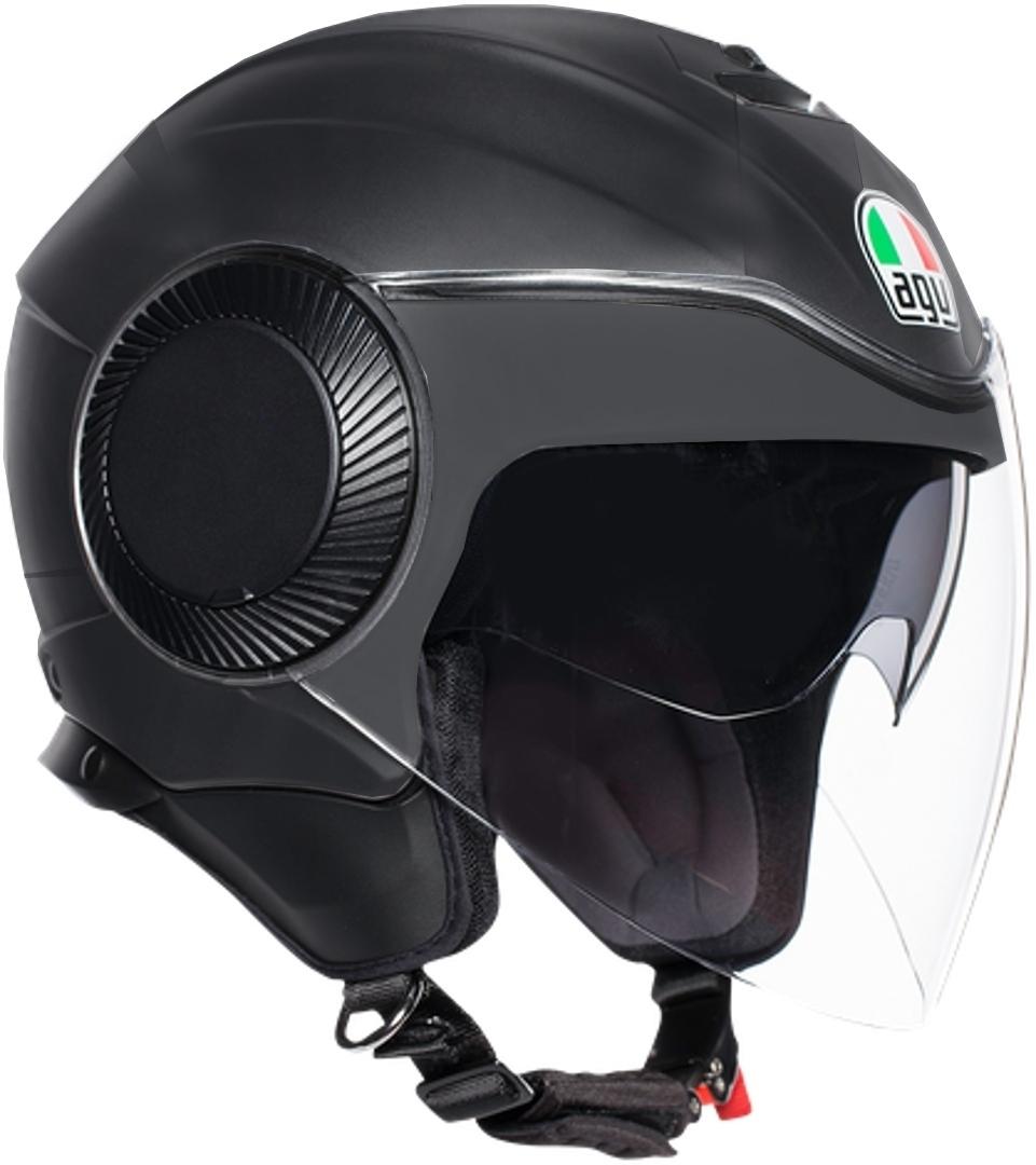AGV Orbyt Mono Jethelm, schwarz, Größe XS, schwarz, Größe XS