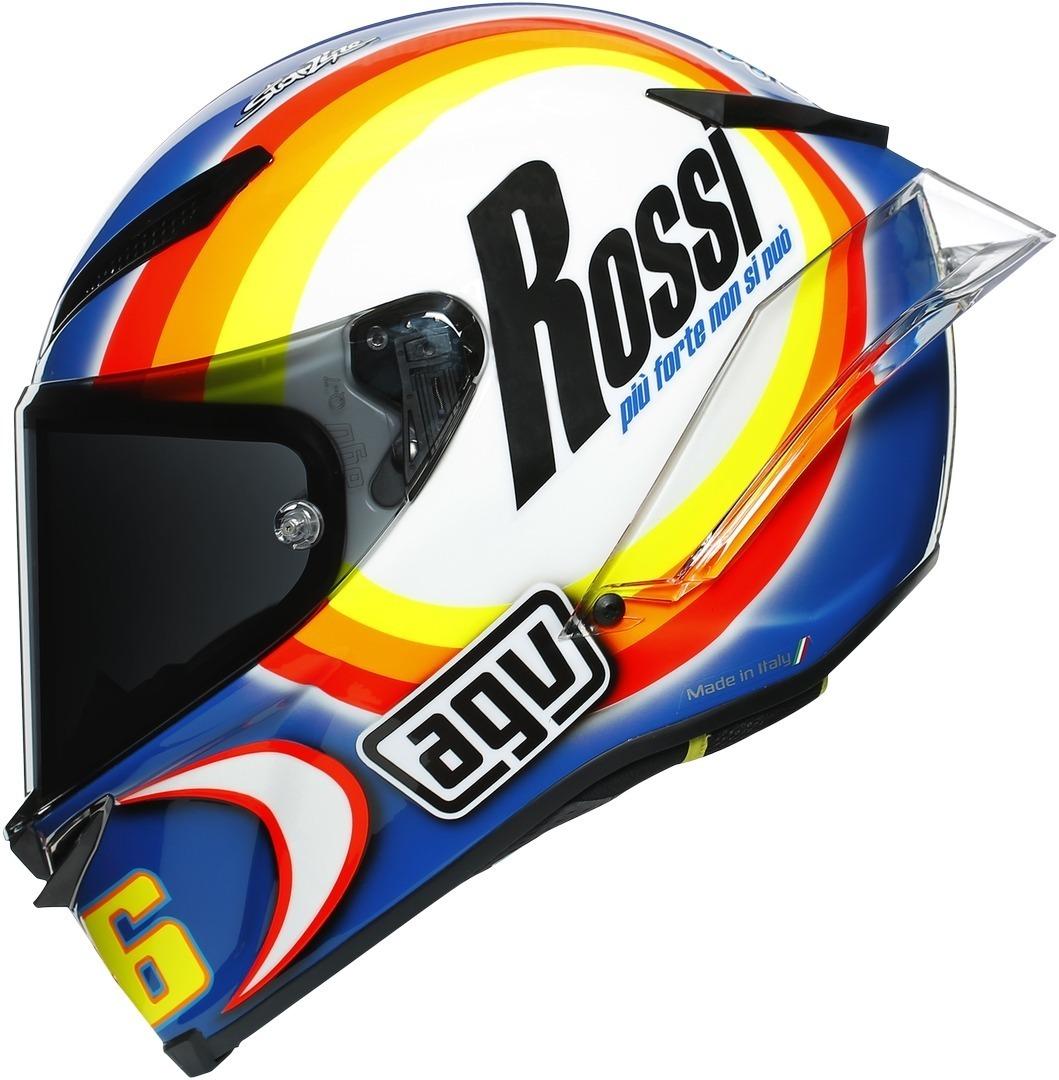 AGV Pista GP RR Winter Test 2005 Limited Edition Carbon Helm, weiss-rot-blau, Größe XL, weiss-rot-blau, Größe XL