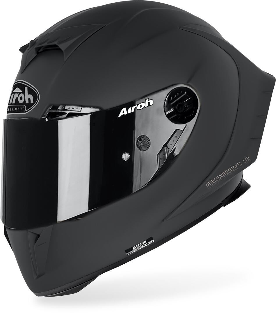 Airoh GP550S Color Helm, schwarz-grau, Größe L, schwarz-grau, Größe L