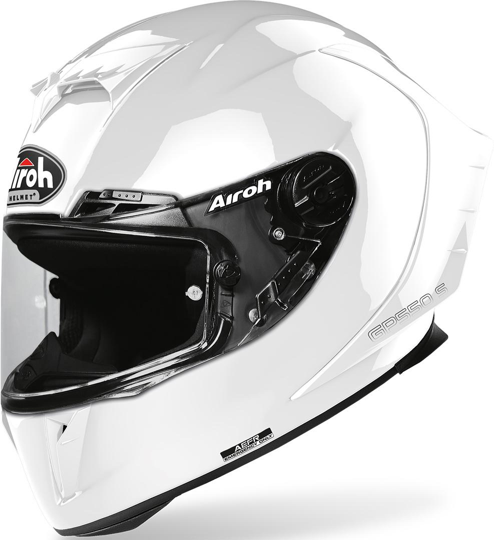 Airoh GP550S Color Helm, weiss, Größe S, weiss, Größe S
