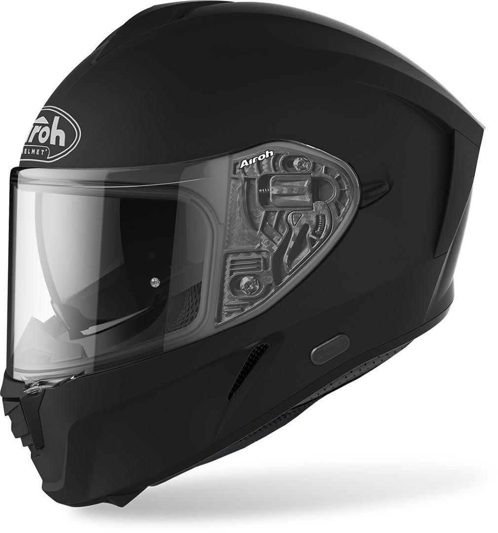 Airoh Spark Color Helm, schwarz, Größe S, schwarz, Größe S