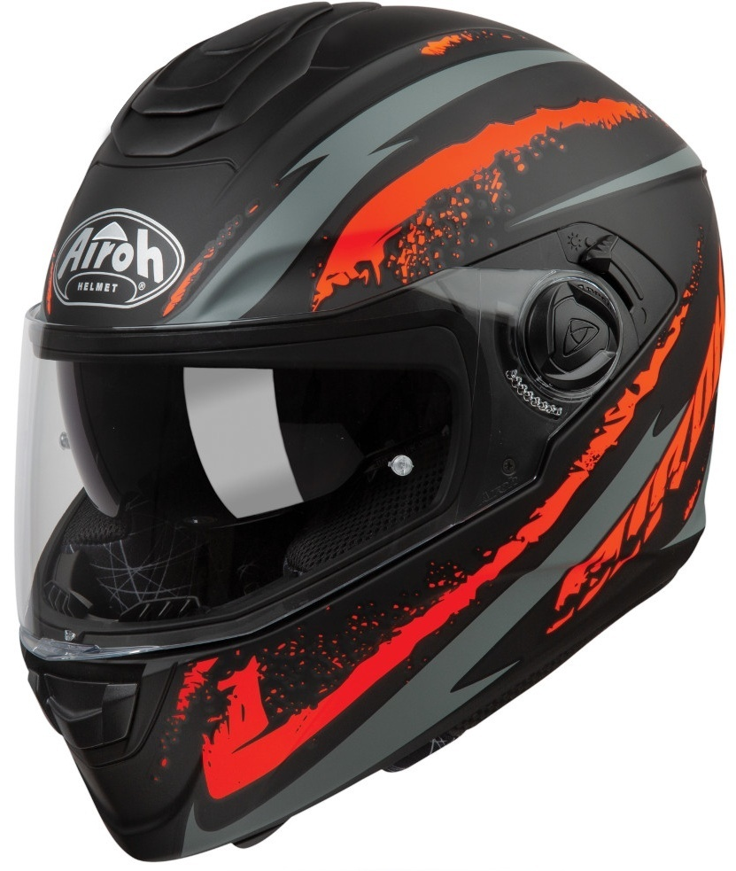 Airoh ST 301 Logo Helm, orange, Größe 2XL, orange, Größe 2XL