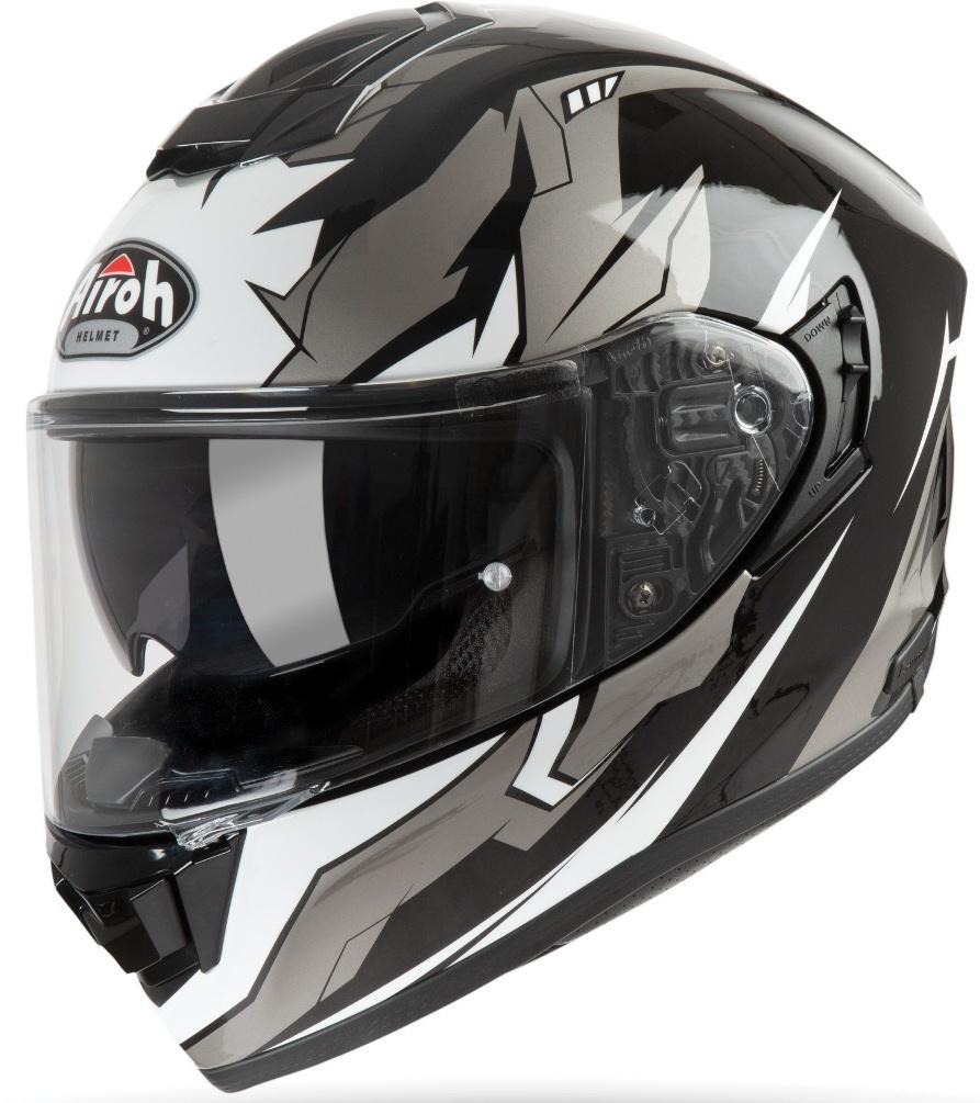 Airoh ST 501 Bionic Helm, weiss, Größe L, weiss, Größe L