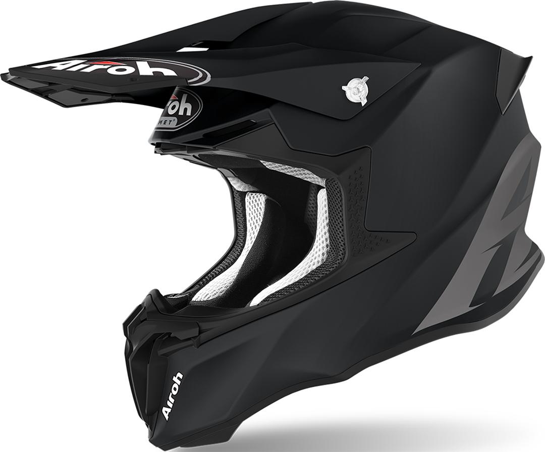 Airoh Twist 2.0 Color Motocross Helm, schwarz, Größe L, schwarz, Größe L