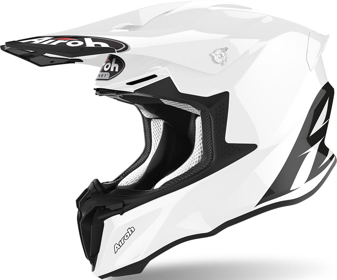 Airoh Twist 2.0 Color Motocross Helm, weiss, Größe L, weiss, Größe L