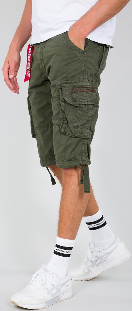Alpha Industries Jet Shorts, grün, Größe 40, grün, Größe 40