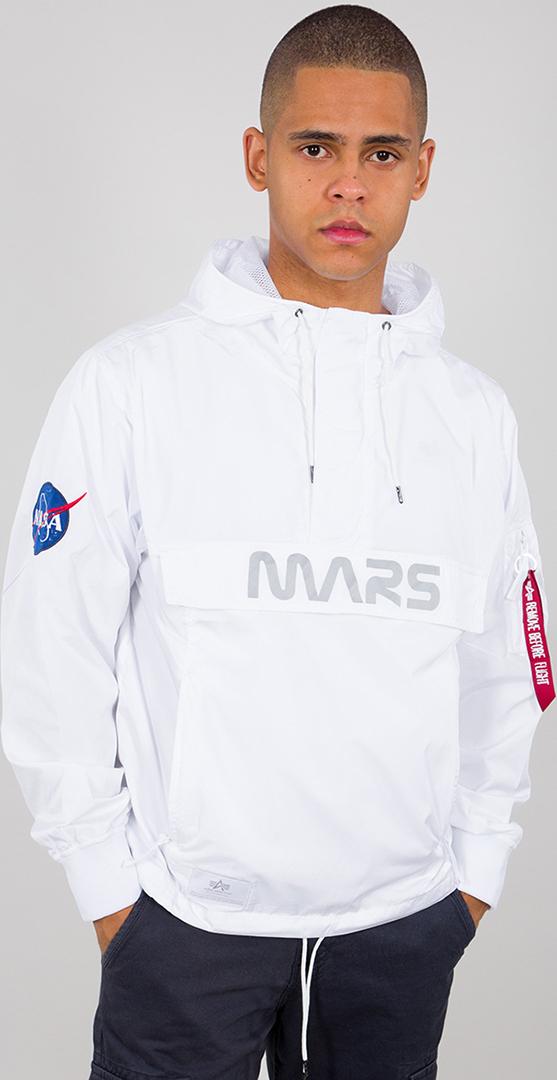 Alpha Industries Mars Mission Jacke, weiss, Größe 2XL, weiss, Größe 2XL