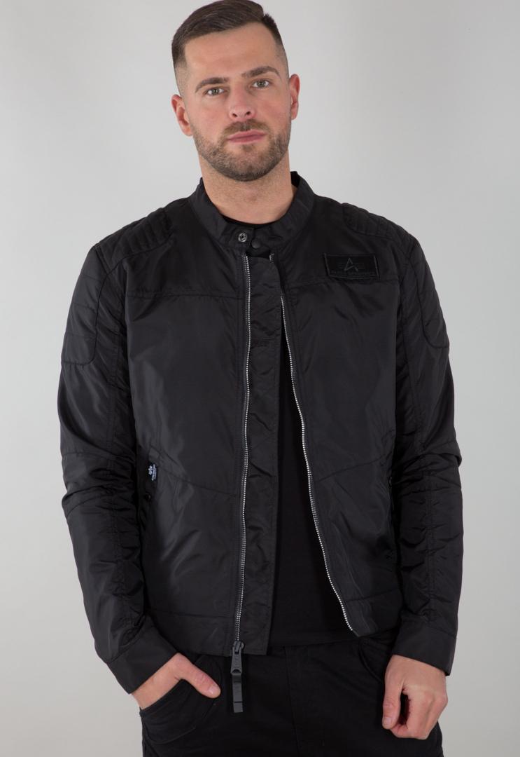 Alpha Industries RBF Moto Jacke, schwarz, Größe 3XL, schwarz, Größe 3XL