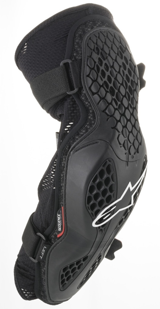 Alpinestars Bionic Pro Ellenbogenprotektoren, schwarz, Größe L XL, schwarz, Größe L XL