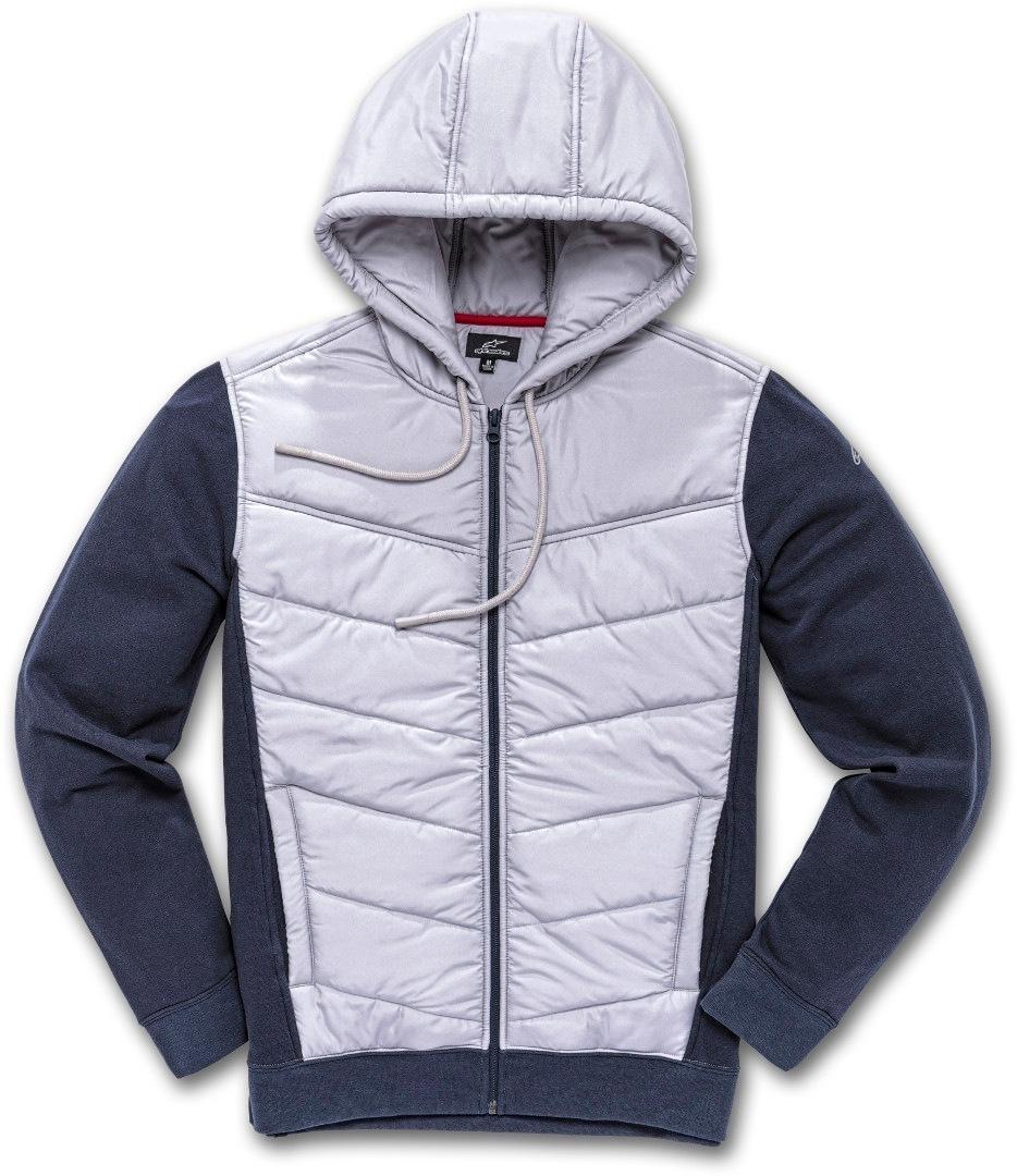 Alpinestars Boost II Hybrid Jacke, grau-blau, Größe S, grau-blau, Größe S