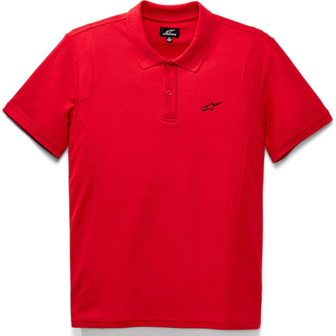 Alpinestars Capital Polo Shirt, rot, Größe XL, rot, Größe XL