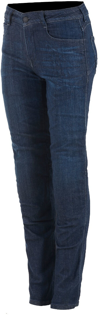 Alpinestars Daisy V2 Damen Motorrad Jeans, blau, Größe 34, blau, Größe 34
