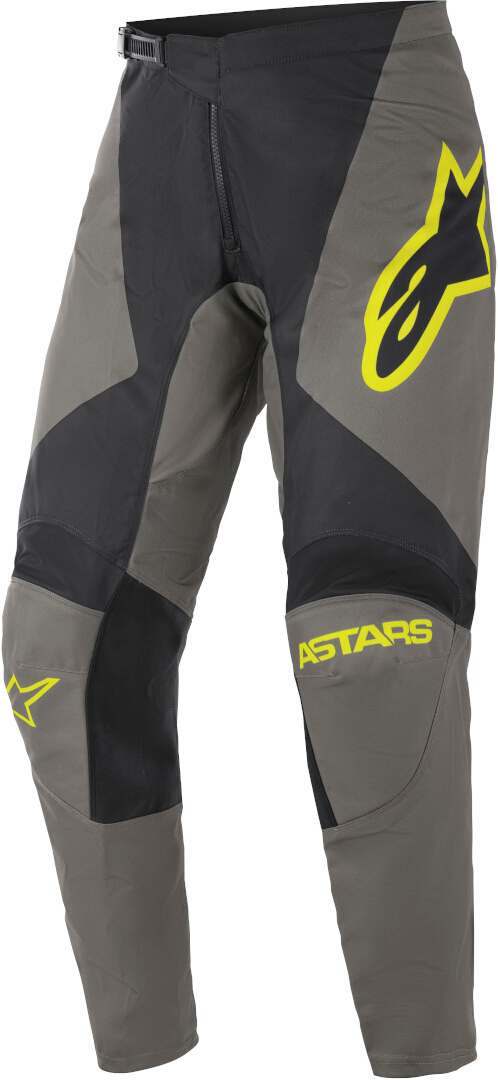 Alpinestars Fluid Speed Motocross Hose, grau-gelb, Größe 28, grau-gelb, Größe 28