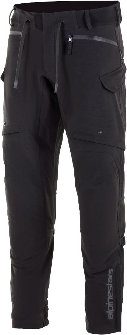 Alpinestars Juggernaut Wasserdichte Motorrad Textilhose, schwarz, Größe M, schwarz, Größe M
