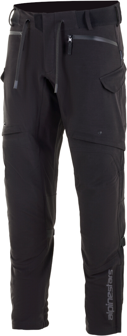 Alpinestars Juggernaut Wasserdichte Motorrad Textilhose, schwarz, Größe S, schwarz, Größe S