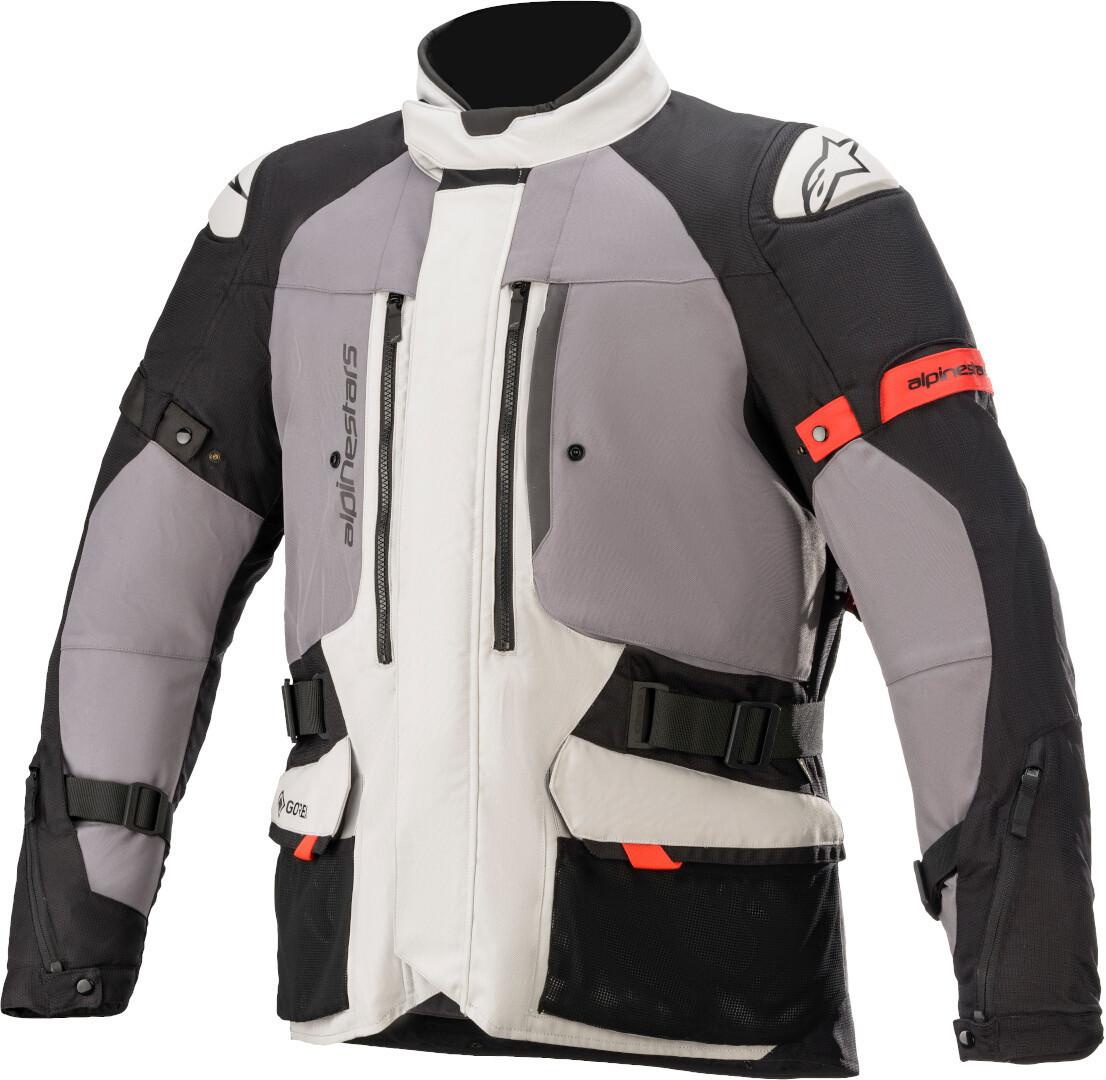 Alpinestars Ketchum Gore-Tex Motorrad Textiljacke, grau, Größe XL, grau, Größe XL