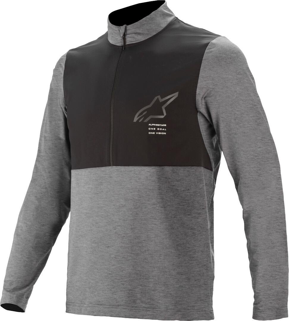 Alpinestars Nevada Fahrrad Jersey, schwarz-grau, Größe XL, schwarz-grau, Größe XL