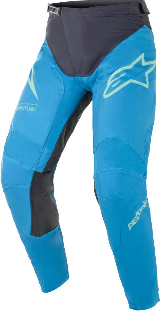 Alpinestars Racer Braap Motocross Hose, schwarz-blau, Größe 32, schwarz-blau, Größe 32