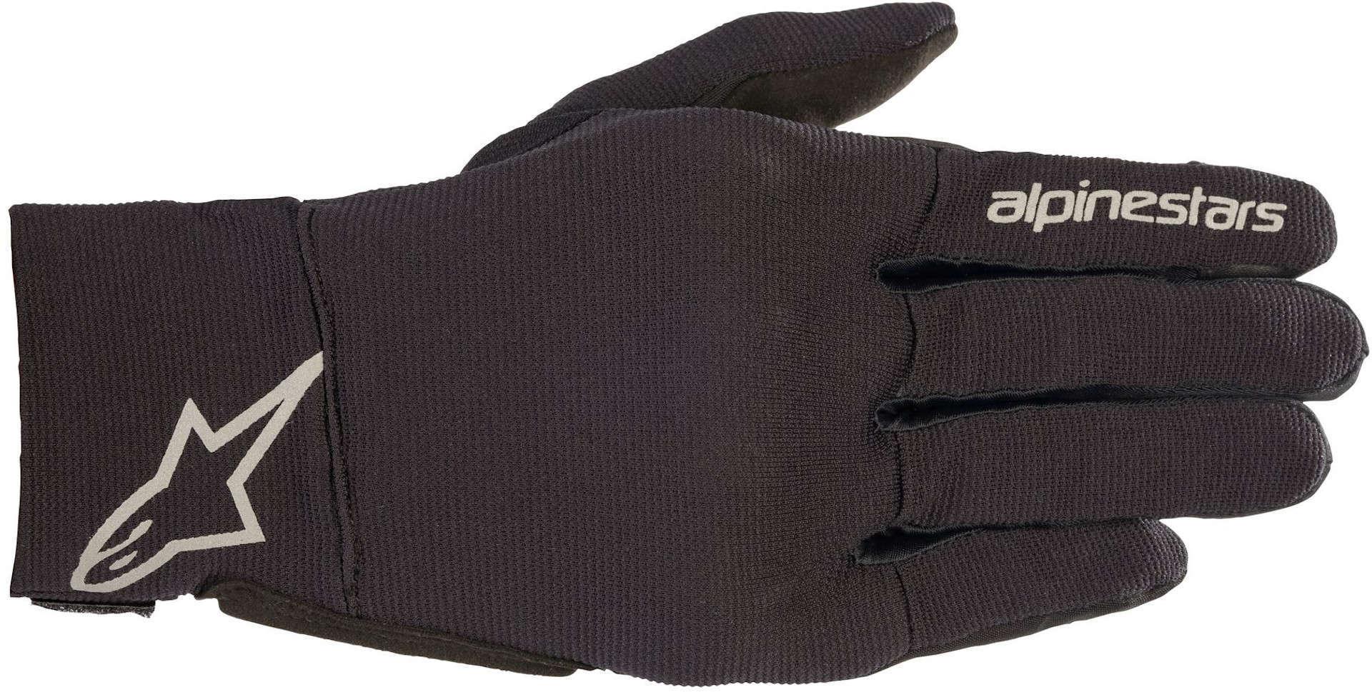 Alpinestars Reef Motorrad Handschuhe, schwarz-grau, Größe 2XL, schwarz-grau, Größe 2XL