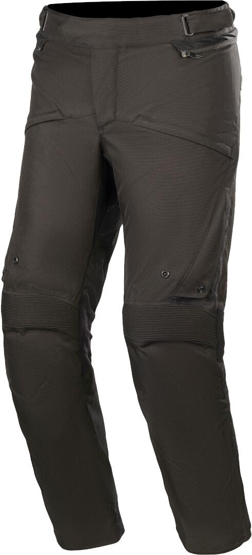 Alpinestars Road Pro Gore-Tex Motorrad Textilhosen, schwarz, Größe 2XL, schwarz, Größe 2XL