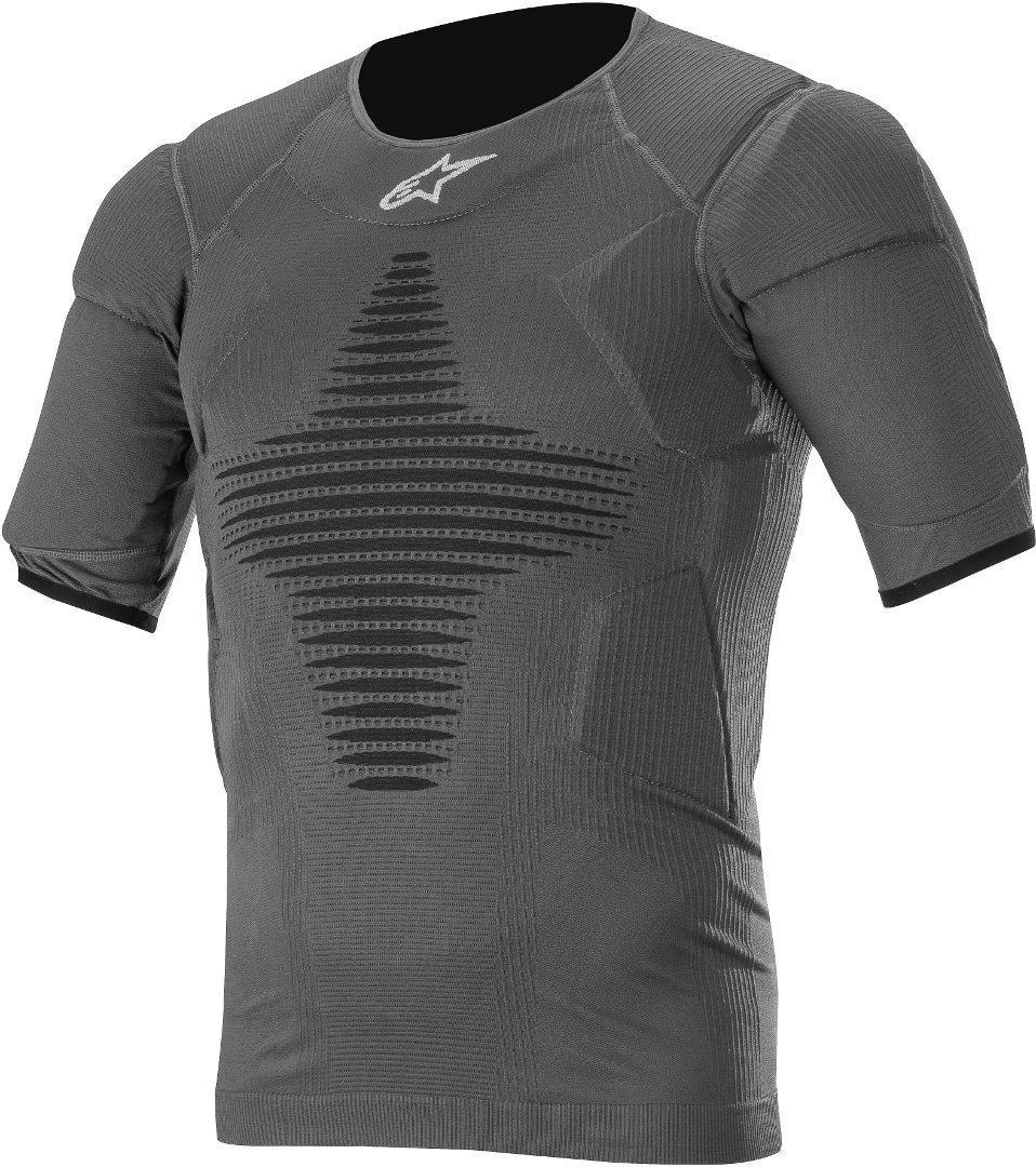 Alpinestars Roost Base Protektorenshirt, schwarz, Größe S M, schwarz, Größe S M