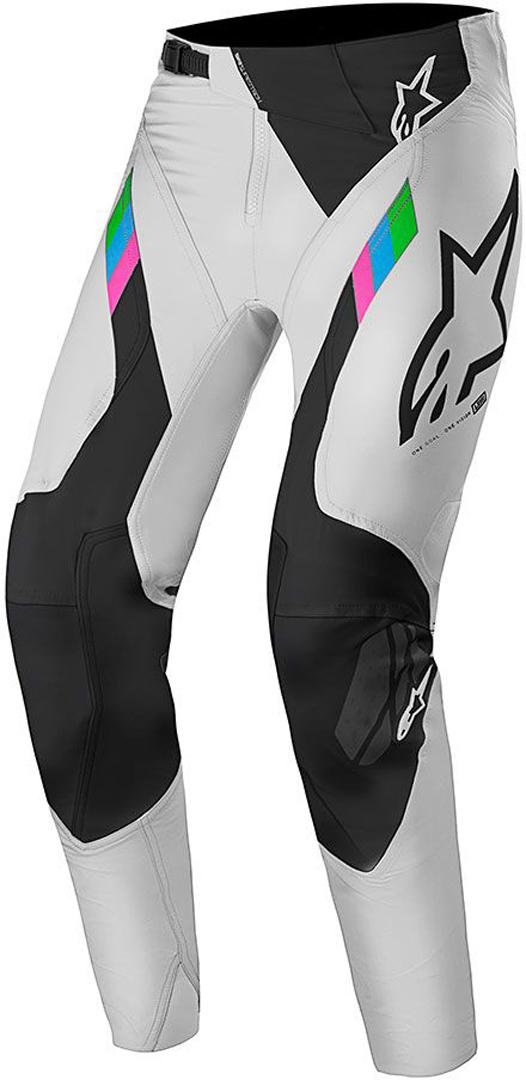Alpinestars Super Tech Limitierte Edition Motocross Hose, schwarz-weiss, Größe 38, schwarz-weiss, Größe 38