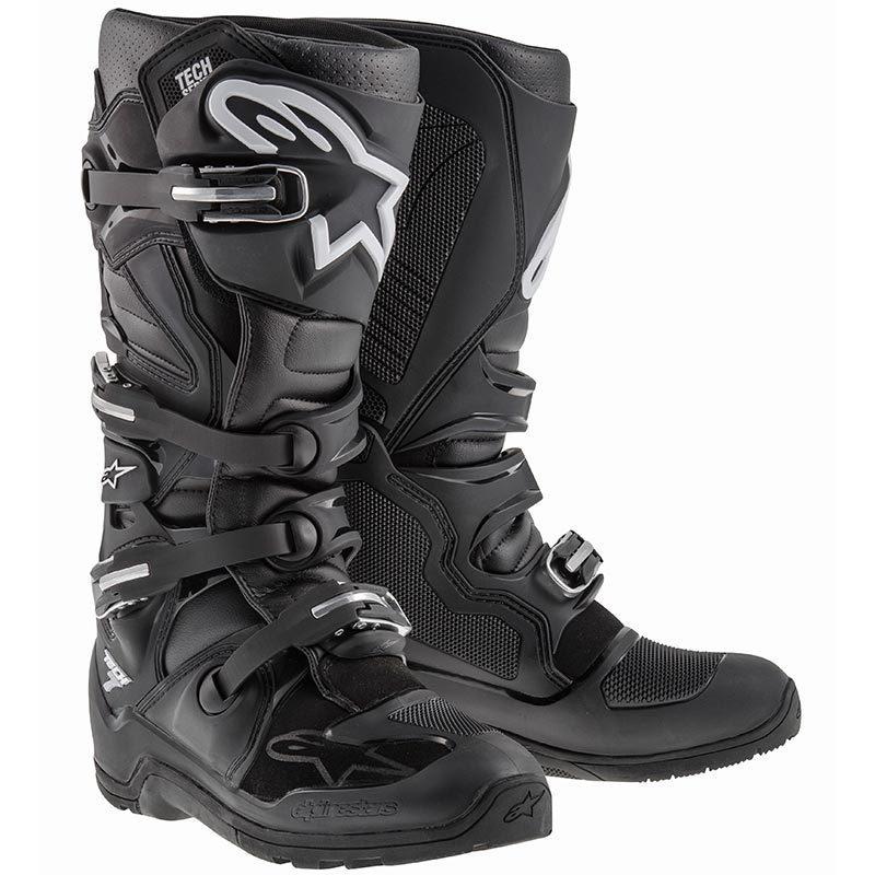 Alpinestars Tech 7 Enduro Stiefel, schwarz, Größe 42, schwarz, Größe 42
