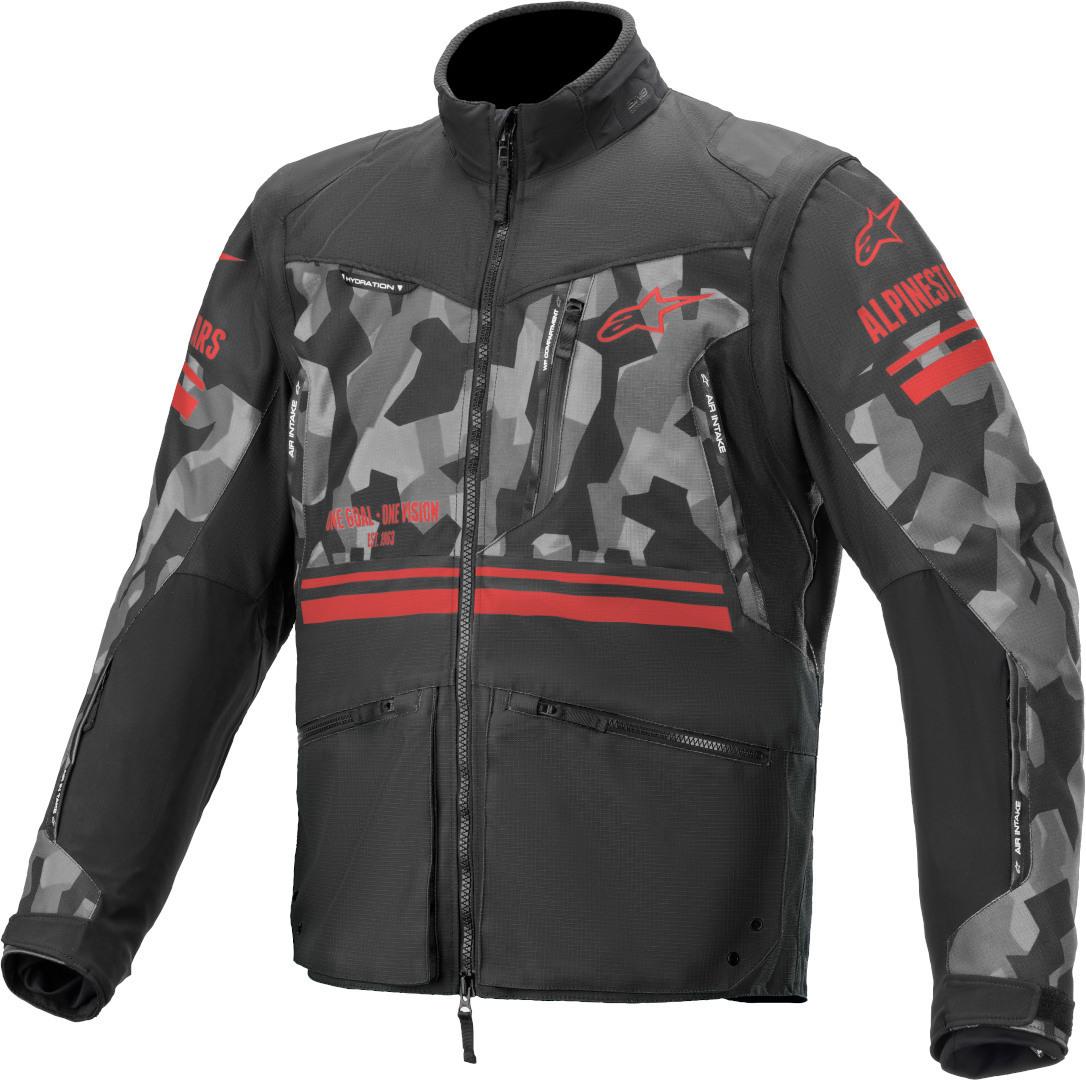 Alpinestars Venture R Camo Motocross Jacke, schwarz-mehrfarbig, Größe XL, schwarz-mehrfarbig, Größe XL