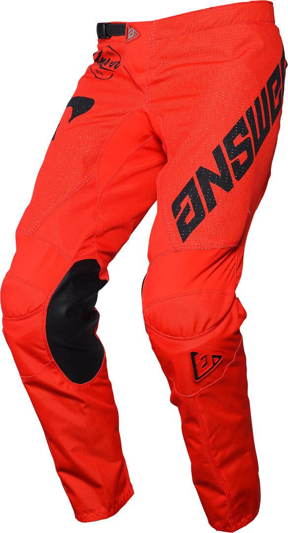 Answer Arkon Bold Motocross Hose, schwarz-rot, Größe 28, schwarz-rot, Größe 28