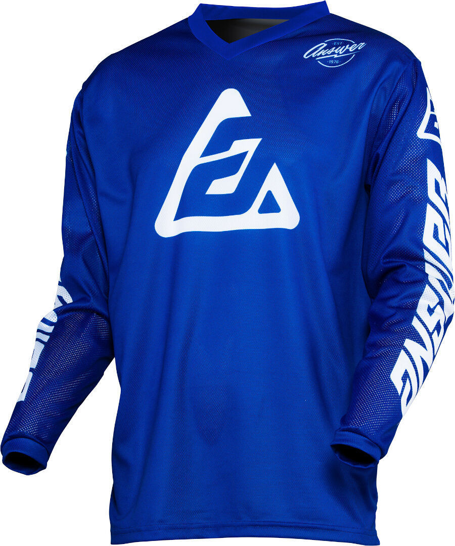 Answer Arkon Bold Motocross Jersey, weiss-blau, Größe 2XL, weiss-blau, Größe 2XL