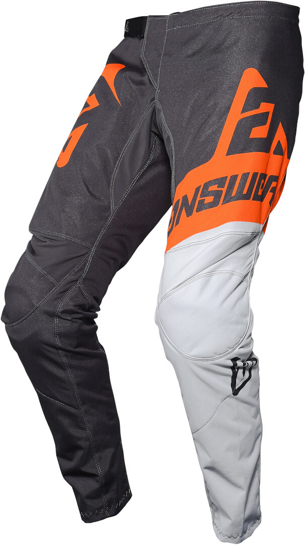 Answer Syncron Voyd Jugend Motocross Hose, schwarz-weiss-orange, Größe 26, schwarz-weiss-orange, Größe 26