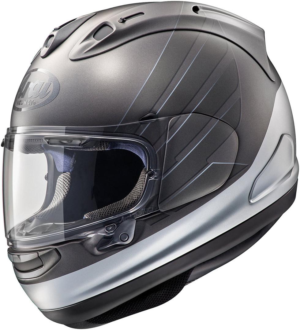 Arai RX-7V Honda CB Helm, grau-silber, Größe XL, grau-silber, Größe XL