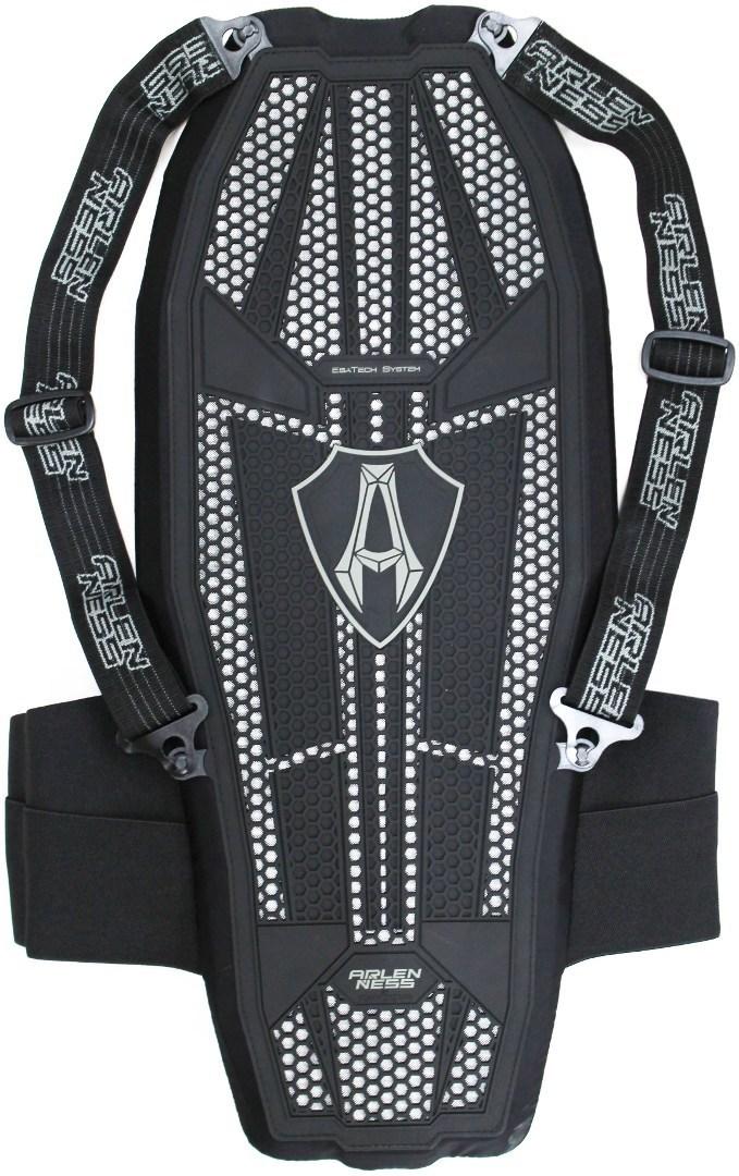Arlen Ness Ultimate EVO Rückenprotektor, schwarz, Größe M, schwarz, Größe M