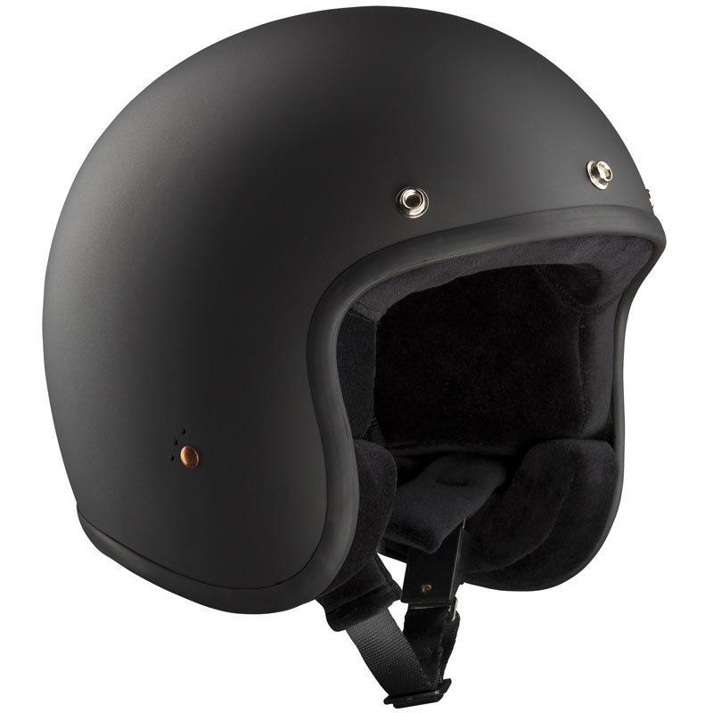 Bandit ECE Jet 2 Schwarz Matt Jethelm, Größe 2XL, schwarz, Größe 2XL