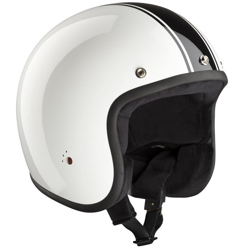 Bandit ECE Jet Classic Jethelm, schwarz-weiss, Größe 2XL, schwarz-weiss, Größe 2XL