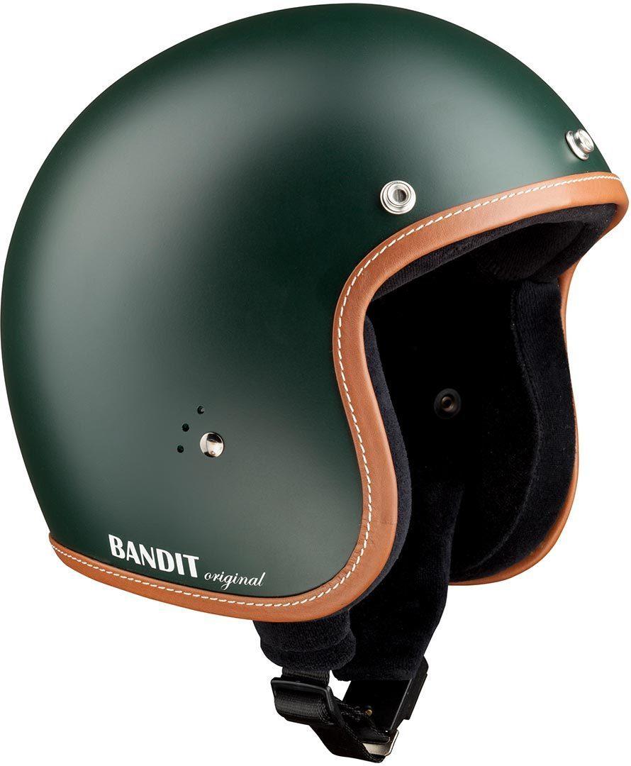 Bandit Jet Premium Line Jethelm, grün, Größe S, grün, Größe S