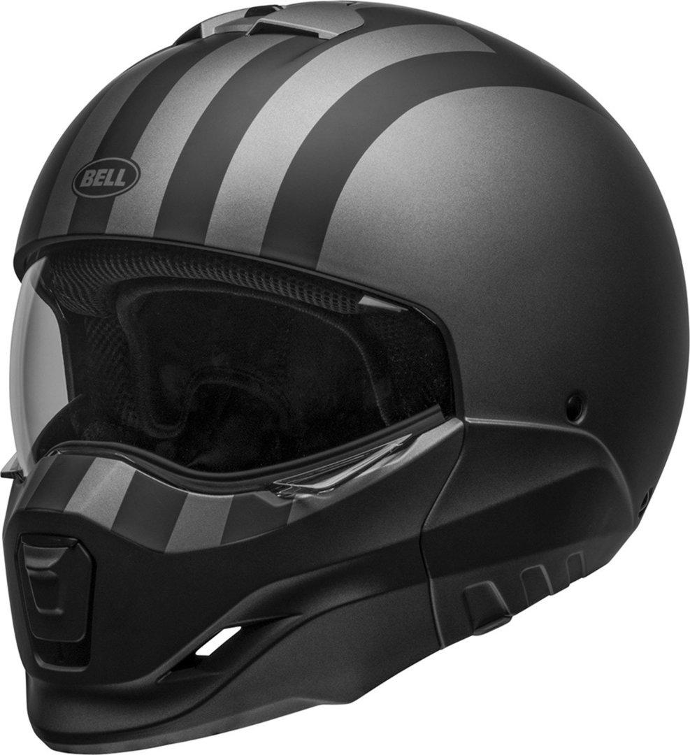 Bell Broozer Freeride Helm, grau, Größe L, grau, Größe L