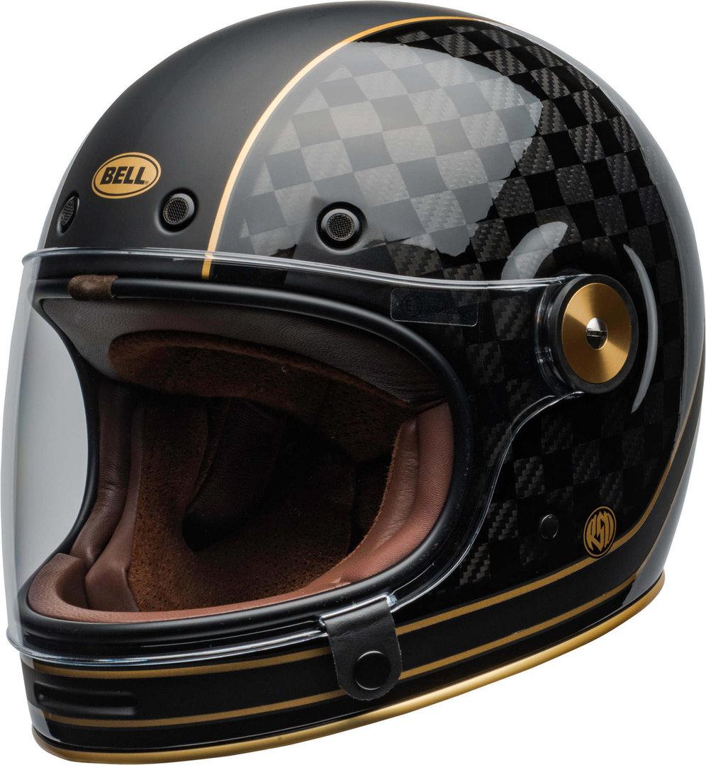 Bell Bullitt Carbon RSD Check It Helm, schwarz-grau, Größe M, schwarz-grau, Größe M