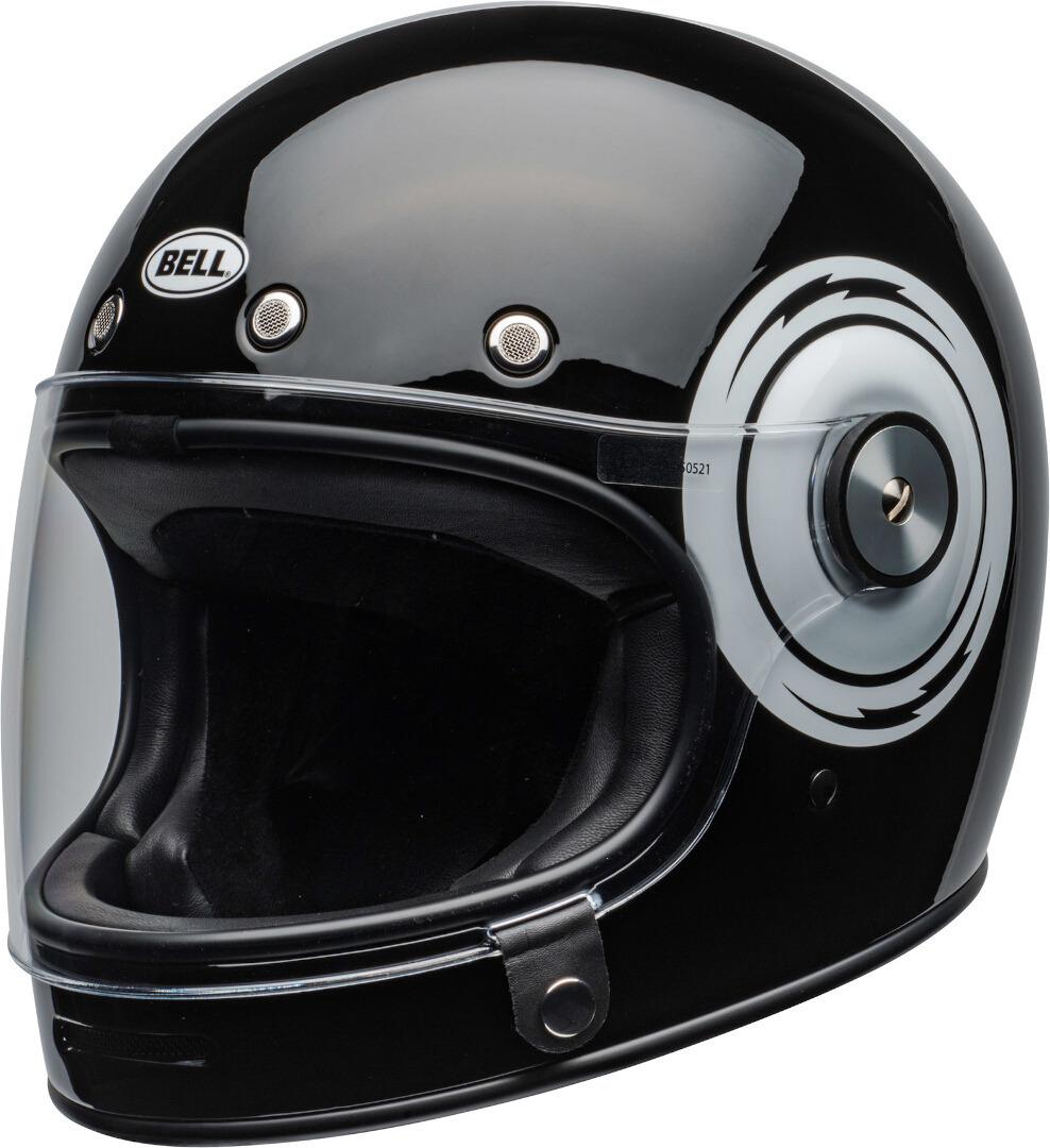 Bell Bullitt DLX Bolt Helm, schwarz-weiss, Größe L, schwarz-weiss, Größe L