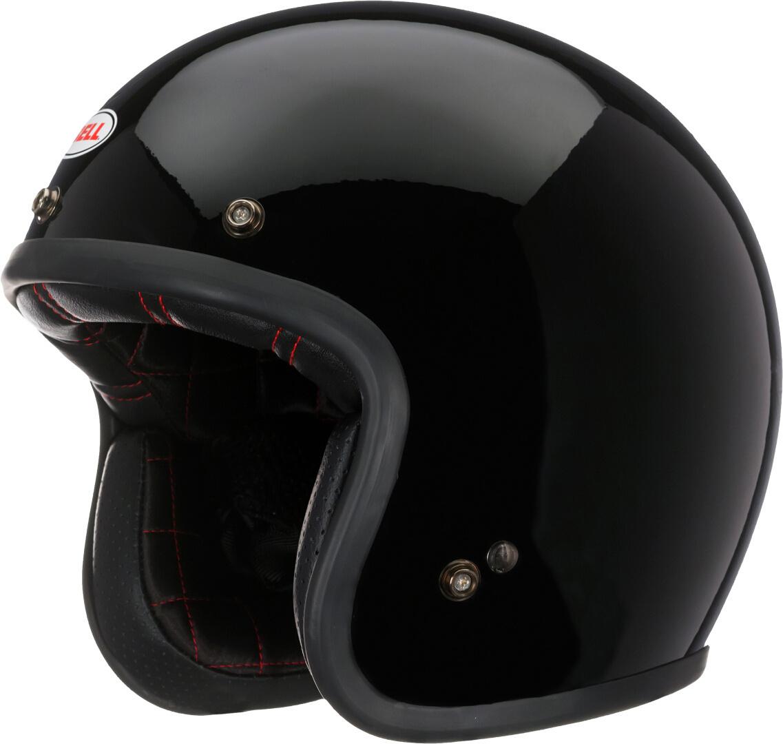 Bell Custom 500 Solid Jethelm, schwarz, Größe L, schwarz, Größe L